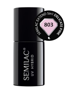 Semilac Extend 5in1 Delicate Pink 803 7 ml